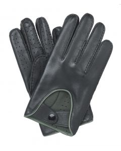 Brighton - Men's Lined Leather Driving Gloves