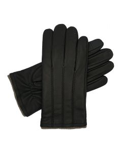 Denham - Parallel Pointed Lined Leather Glove