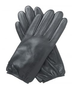 Emma - Silk Lined Short Leather Gloves