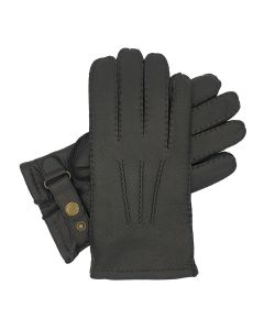 Hamdon - Cashmere Lined Deerskin Glove with Strap