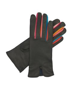 Harley - Cashmere Lined Leather Glove with Contrast Fittings