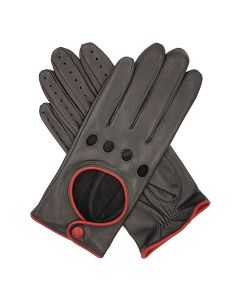 Jules - Women's Contrast Trimmed Driving Gloves