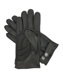 Men's Winter Leather Cycling Gloves