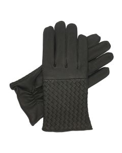 Melbury - Lined Woven Leather Gloves