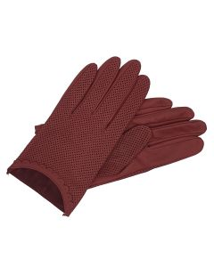Peggy - Perforated Leather Gloves