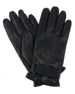Mens Lined Leather Riding Gloves
