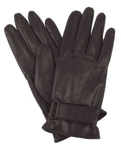 Womens Lined Leather Riding Gloves