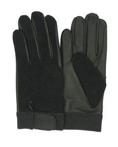 Men's Unlined Leather Palmed Riding Glove