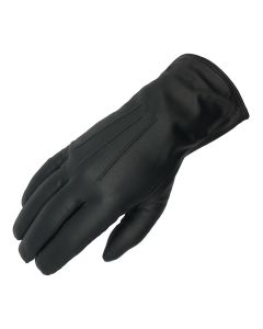 Women's Uniform Wool Lined Leather Gloves