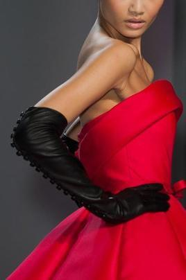 Ralph & Russo, Gloves by Southcombe