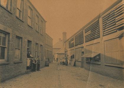 The Glove Factory Circa 1900