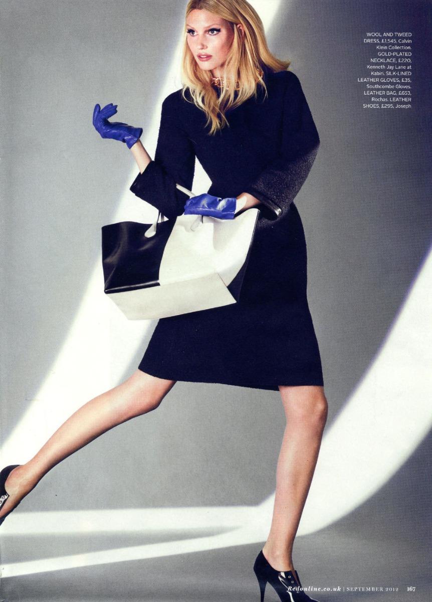 Red Magazine Fashion Images