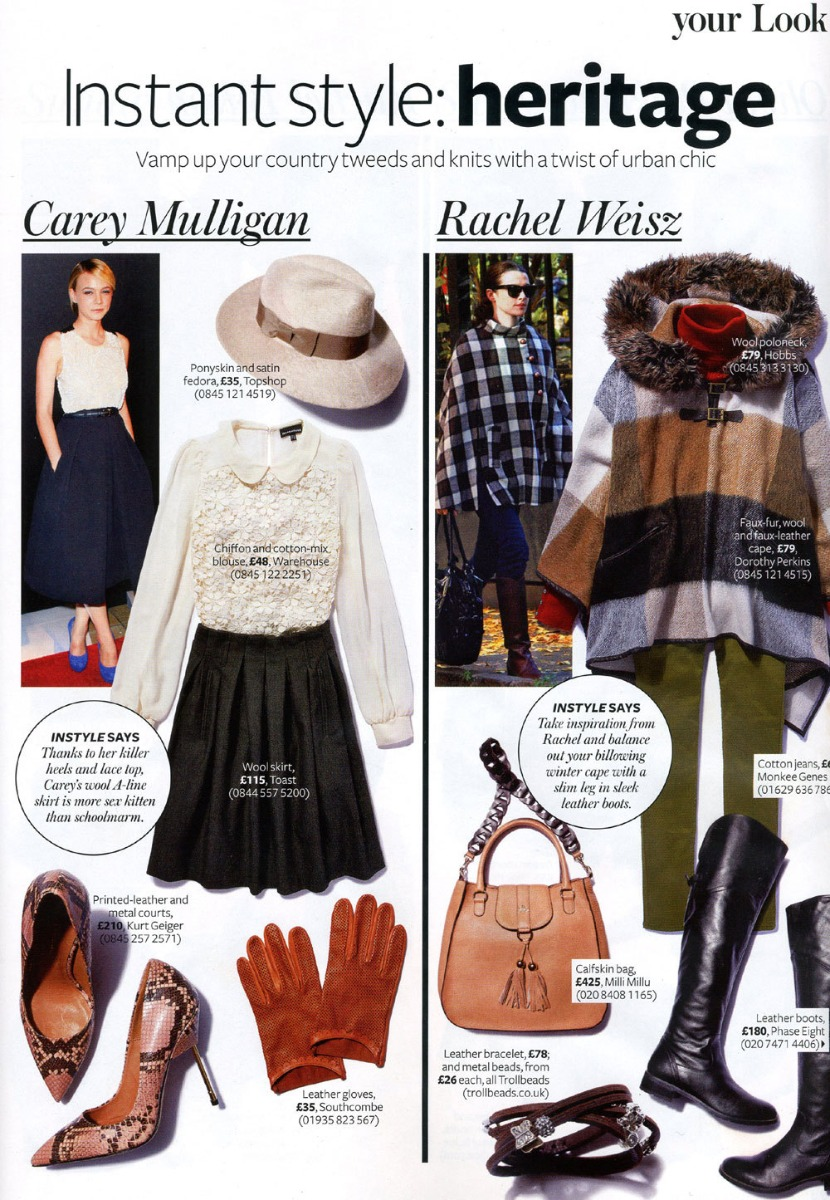 InStyle Magazine Press Coverage